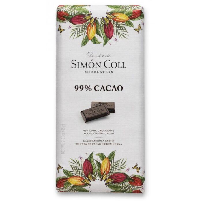 Simon Coll Gluténmentes 99%-os Étcsokoládé 85g
