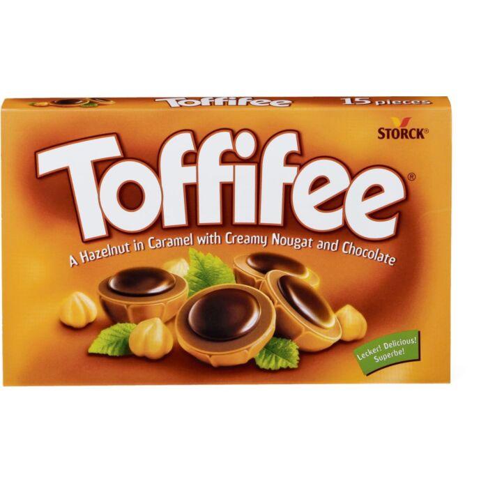 Toffifee Desszert Mogyoróval Karamellben,Mogyorós Nugátkrémmel és Csokoládéval 125g