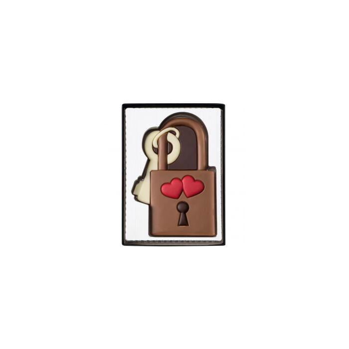 Weibler Tejcsokoládé Szerelmes Lakat 80g