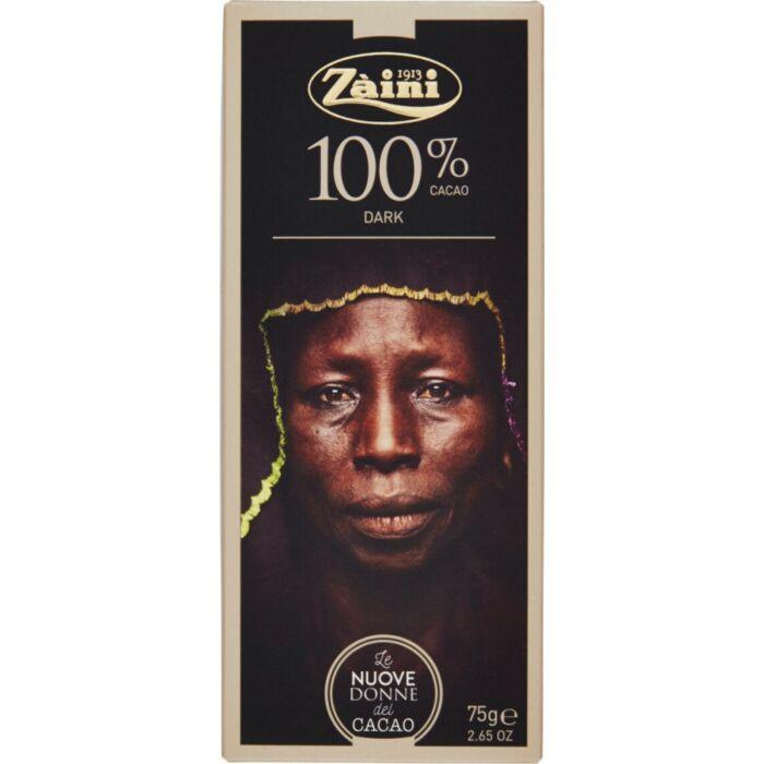 Zaini Extra Étcsokoládé 100% 75 g
