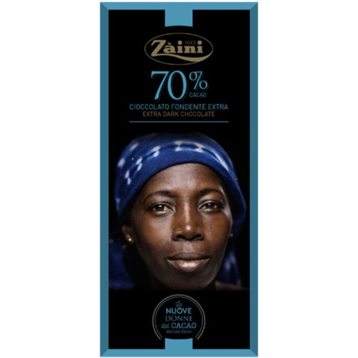 Zaini Extra Étcsokoládé 70% 75 g