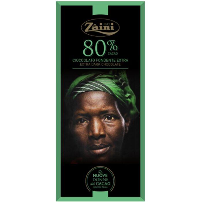 Zaini Extra Étcsokoládé 80% 75 g
