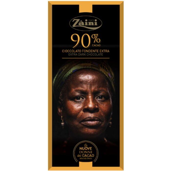 Zaini Extra Étcsokoládé 90% 75 g