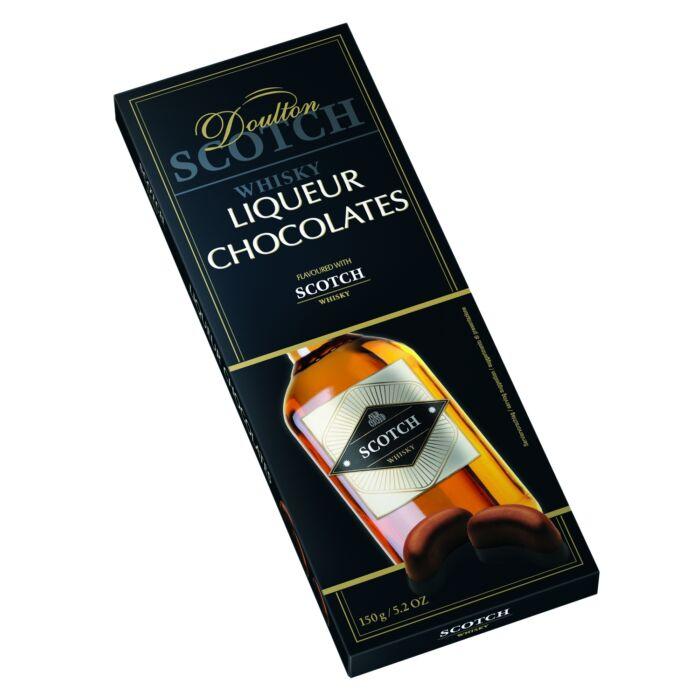 Doulton  Scotch Whiskyvel Töltött Csokoládé Praliné 150g