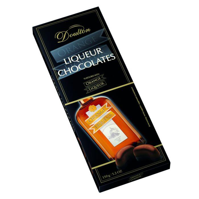 Doulton Narancs Likőrrel Töltött Csokoládé Praliné 150g