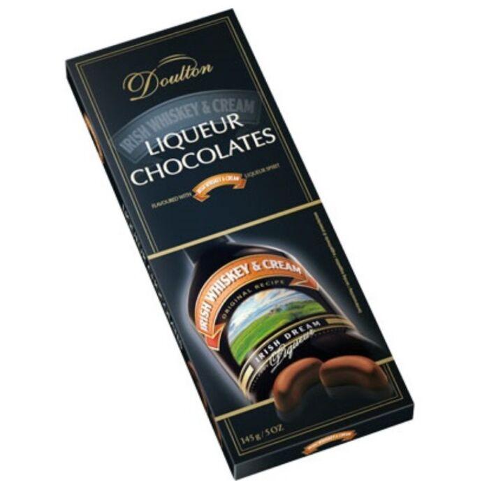 Doulton Ír Krém Whiskeyvel Töltött Csokoládé Praliné 150g