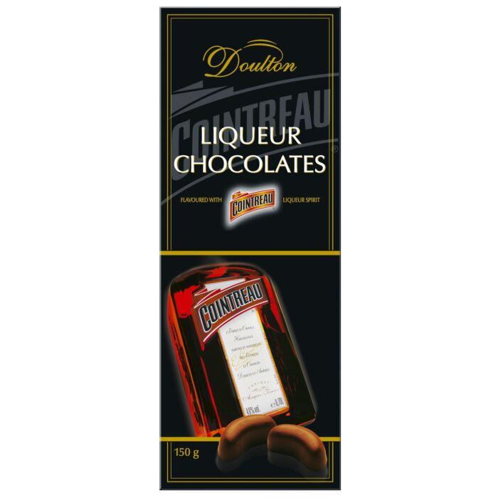Doulton Cointreau likőrrel töltött csokoládé praliné 150g
