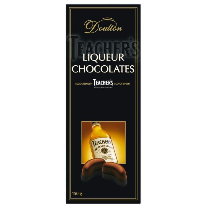 Doulton TEACHER'S Blended Scotch Whiskyvel töltött csokoládé praliné 150g