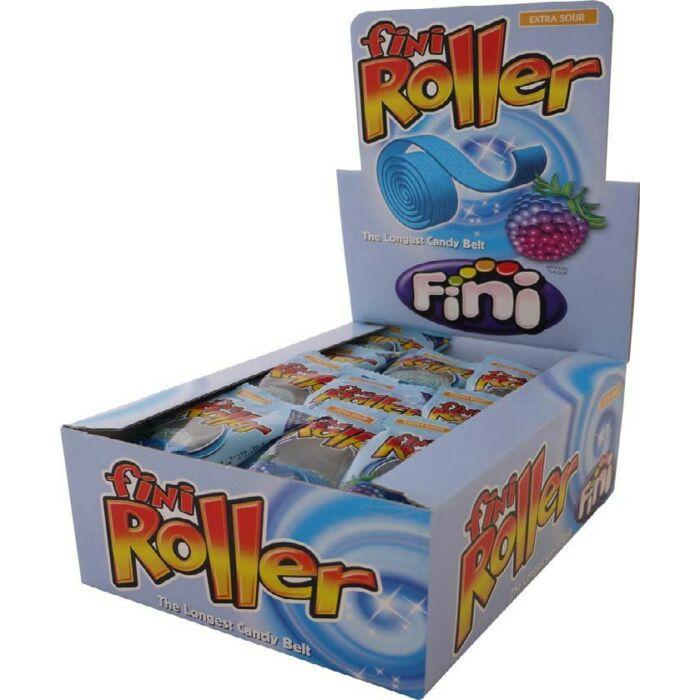 Fini Roller Áfonya gumicukor 800g (40 Db-os)