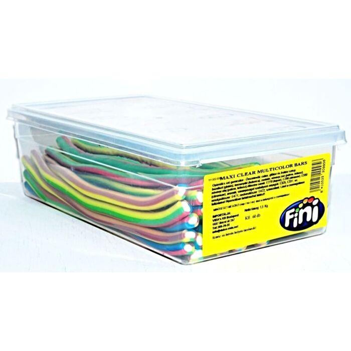 Fini Maxi Clear  Multicolor Kábel Gumicukor 1500g