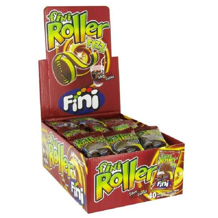 Fini Roller Cola gumicukor 800g (40 Db-os)