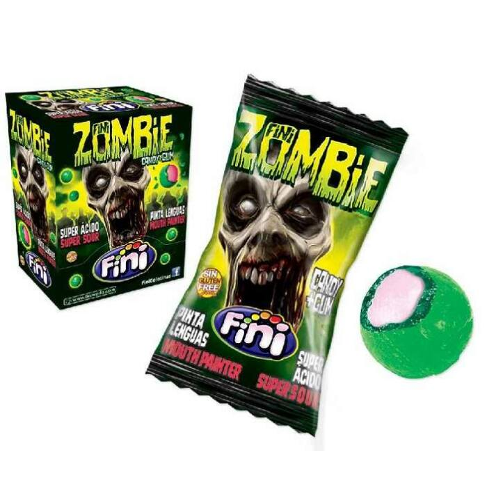 Fini Zombie Savanyú Kemény Cukorka 1000g (200db*5g)