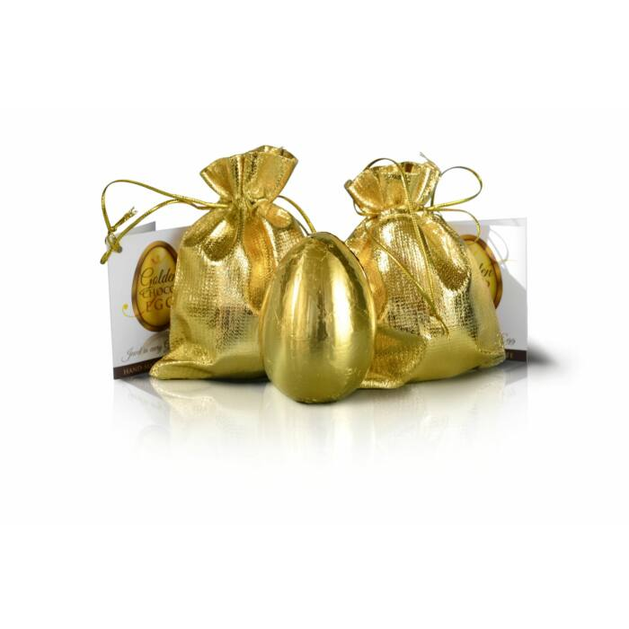 Golden Choco Egg Classic ékszerrel 25g