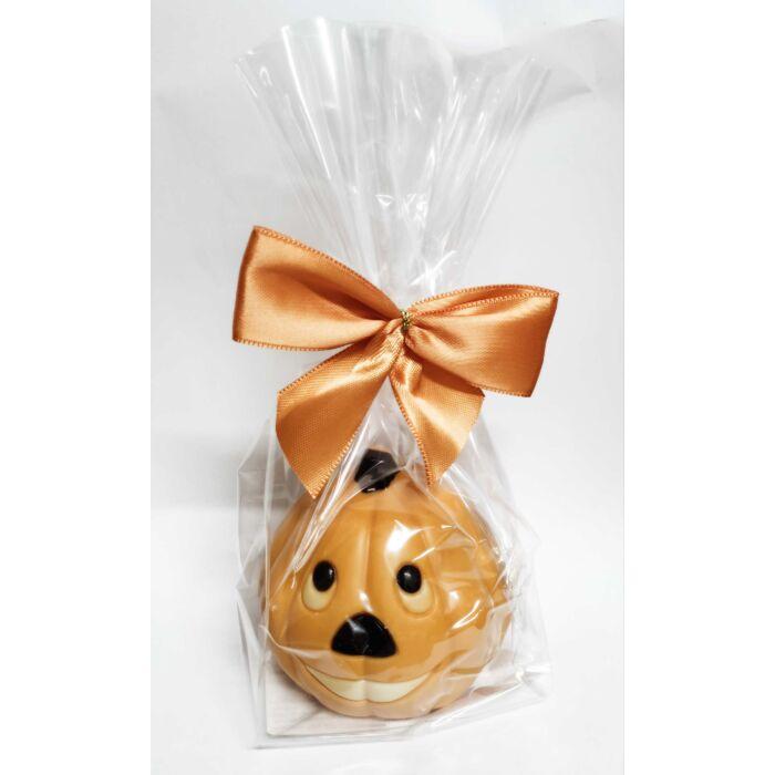 Halloween Tejcsokoládé Narancssárga Tökfej Figura 50g