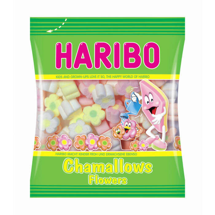 Haribo Chamallows  Flowers habcukor 100g