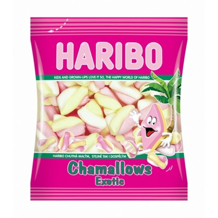 Haribo Chamallows  Exotic Habcukor 100g