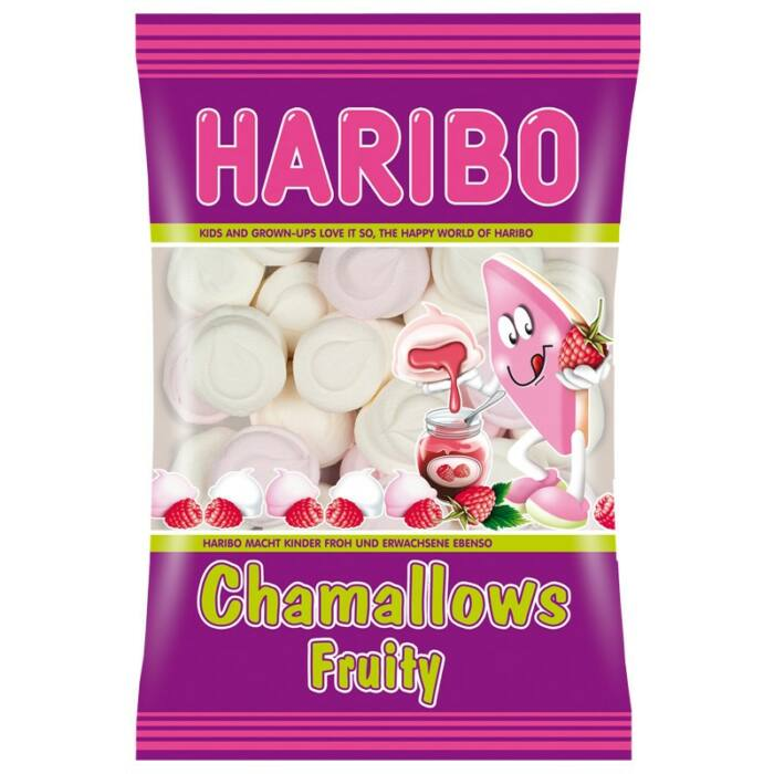 Haribo Chamallows  Fruity habcukor 100g