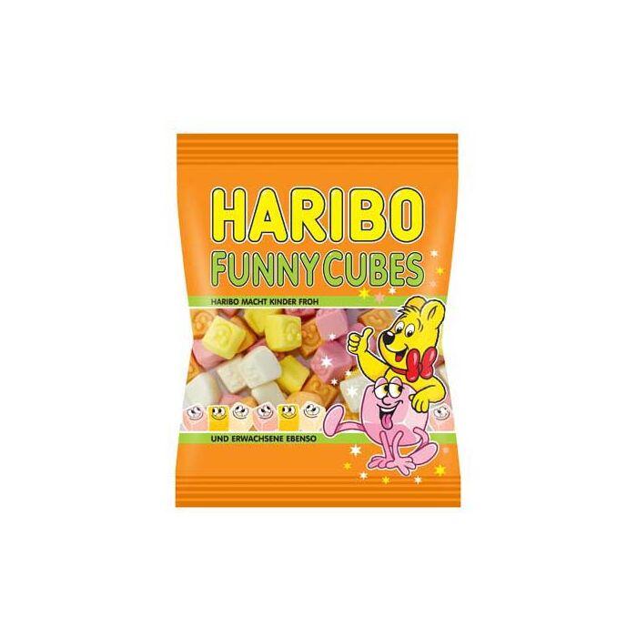 HariboFunny Cubes 100g