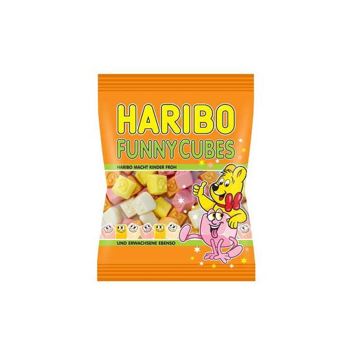 Haribo Funny Cubes 100g