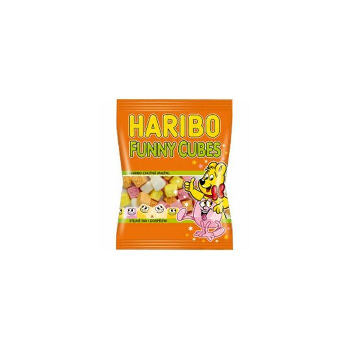 HariboFunny Cubes 200g