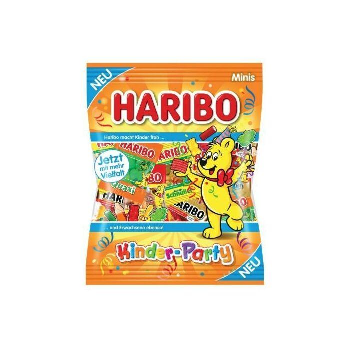 Haribo Kinder Party Minis Mix Gyümölcsízű Gumicukorkák Részben Kóla ízesítéssel 250g