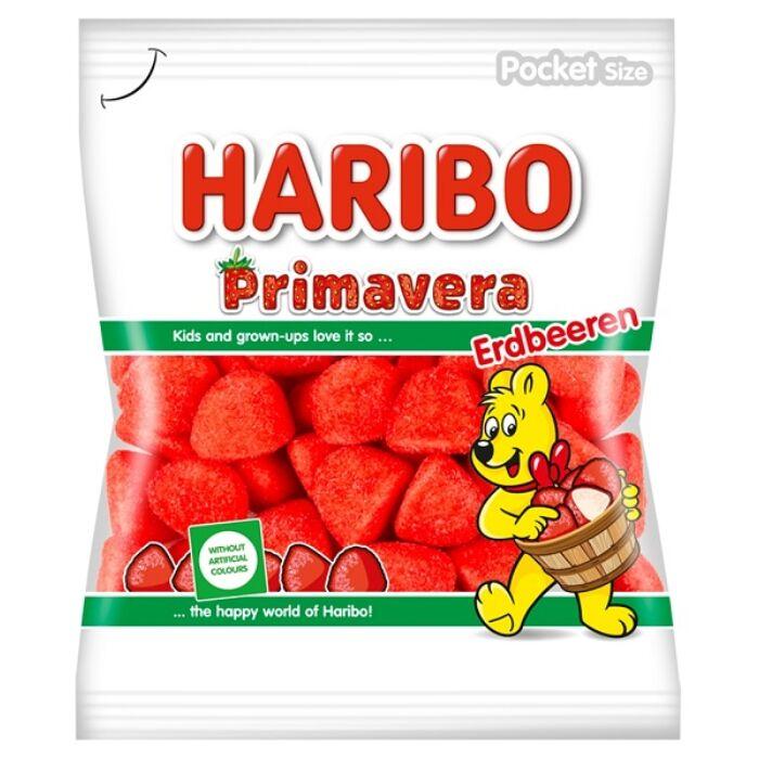 Haribo  Primavera Gyümölcsízű Habcukor  100g