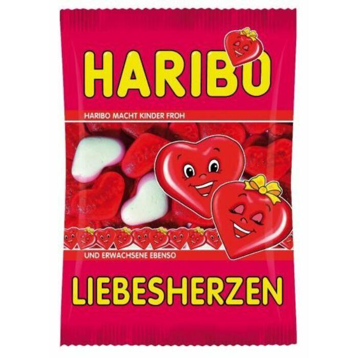 Haribo Szív Gyümölcsízű Gumicukor 100g