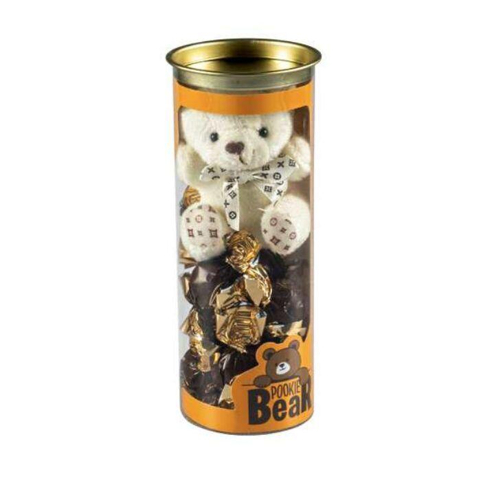 Pokie Bear Love Tejcsokoládé Csokigolyók Plüs-macival  100g