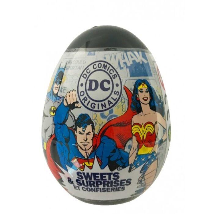 Super Hero Tojás  Meglepetéssel és Gyümölcsízű Cukorkával 10g