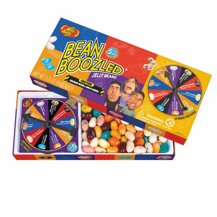 Jelly Belly Ajándékdoboz, Bean Boozled (Furcsa ízek) Új 5.generációs 100g