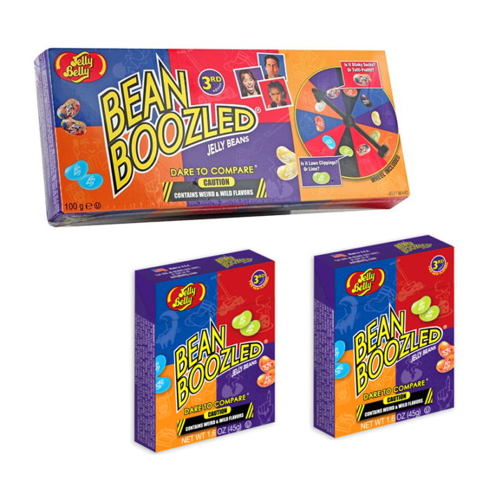 Jelly Belly Bean Boozled Csomag( Játék 2 db 45g-os utántöltővel) 190g
