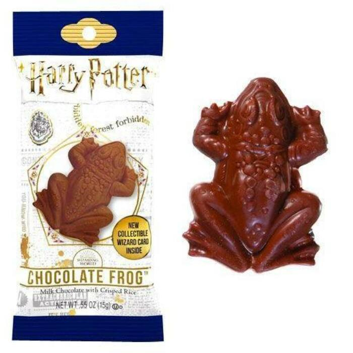 Jelly Belly Harry Potter Csoki Béka Varázsló Kártyával 15g