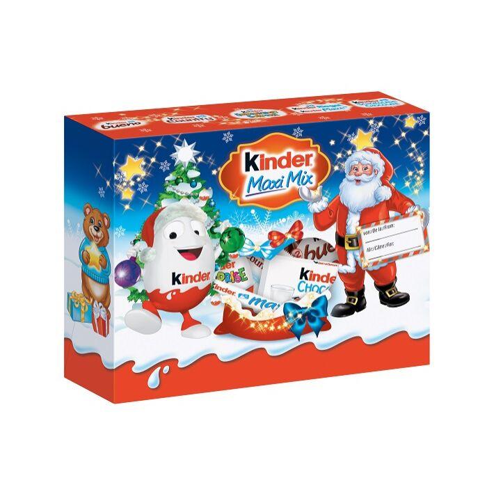 Kinder karácsonyi Maxi Mix Box Válogatás 223g