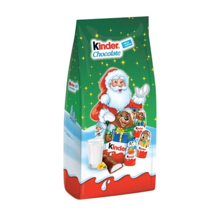 Kinder Tejes Krémmel Töltött Tejcsokoládé Figurák 102g (12db)