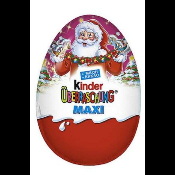 Kinder Karácsonyi Maxi Tojás Lányoknak 100g