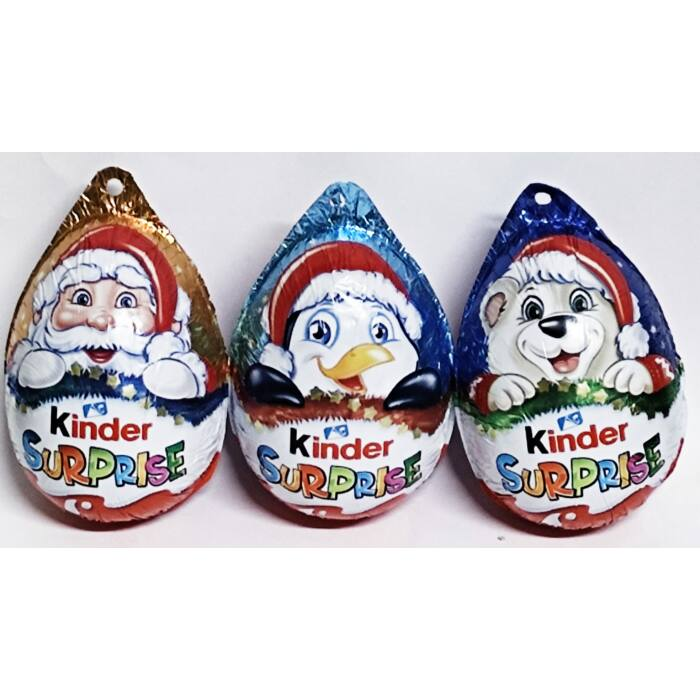 Kinder Karácsonyi Akasztós Meglepetés Tojás 20g (1 db)