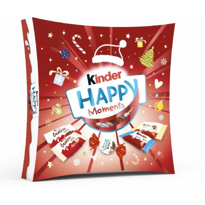 Kinder Karácsonyi Happy Moments Mix Válogatás 242g