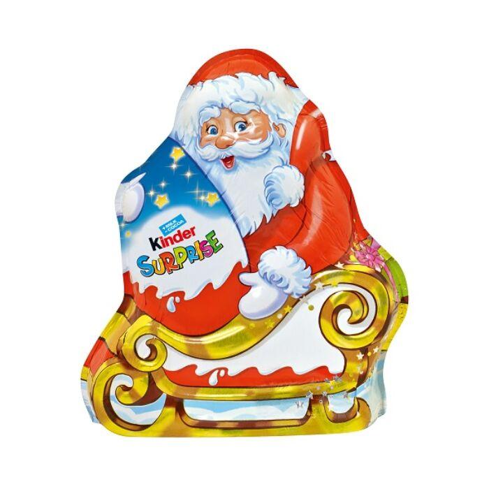 Kinder Karácsonyi Tejcsokoládé Mikulás Figura Meglepetéssel  Unisex  75 g