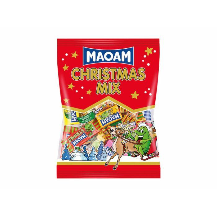Maoam Karácsonyi Gyümölcs- és Kóla Ízű Rágóbonbon Mix 375g