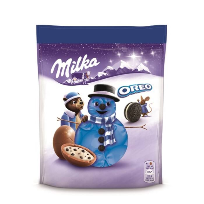 Milka & Oreo Karácsonyi Golyók 86g