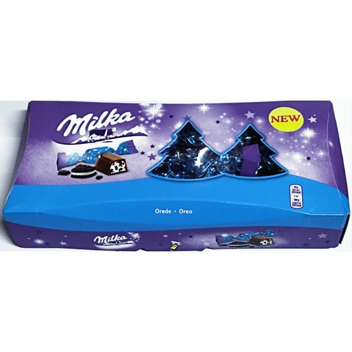 Milka Alpesi Tejcsokoládé Szaloncukor Oreó Krémtöltelékkel 300g