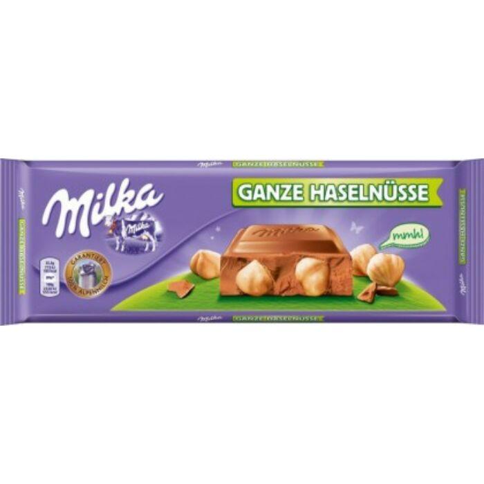 Milka Egészmogyorós tejcsoki 270g