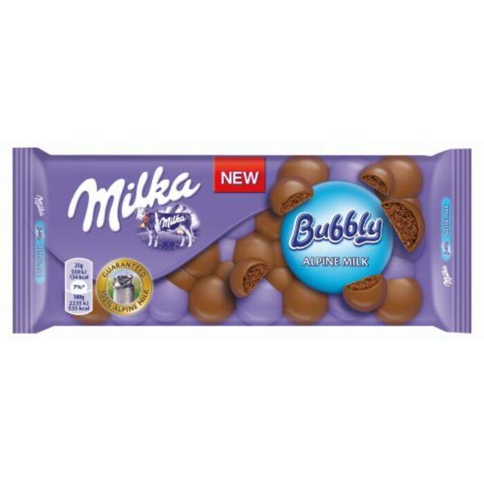 Milka Bubbly tejcsoki 100g