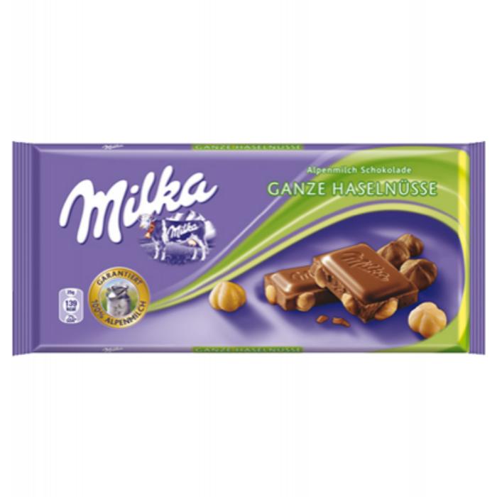 Milka Egészmogyorós tejcsoki 100g