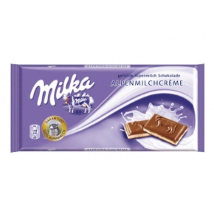 Milka Alpesi tejkrémes csoki 100g