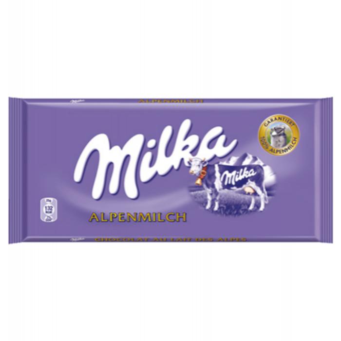 Milka Alpesi tejcsoki 100g
