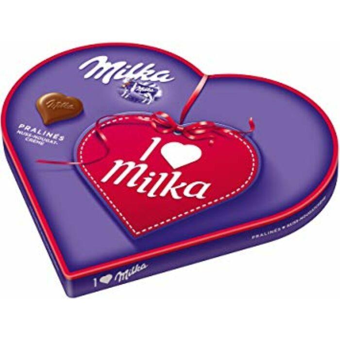 Milka I Love Mogyorókrémes 187g