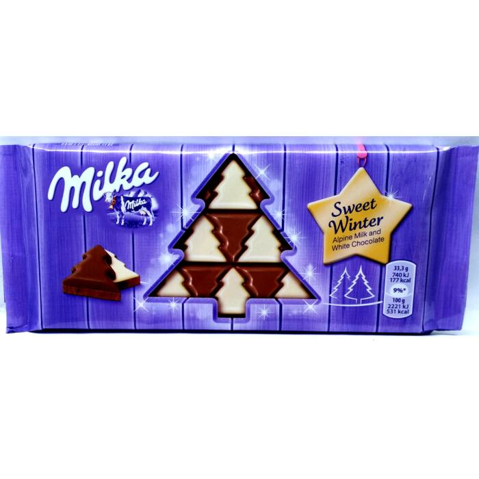 Milka Karácsonyi Sweet Winter 100g