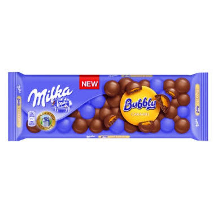 Milka Bubbly caramel tejcsoki 250g