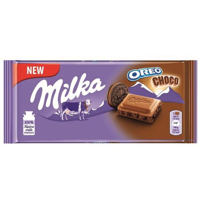 Milka Oreo Choco Csokoládé 100g